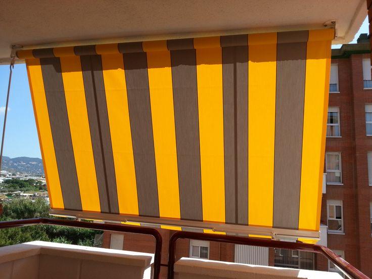 C mo elegir el color del toldo persianas mart nez blanquer for Toldos para balcones precios