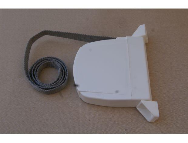 Recogedor abatible cinta 14mm 16mm y 18mm persianas for Recambios mosquiteras