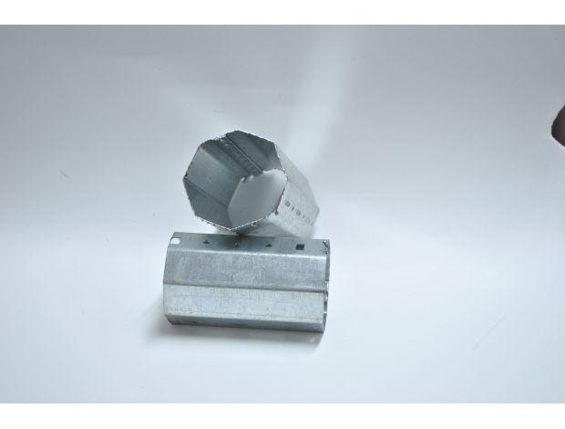 Eje Tubo Metalico Octogonal 60mm Persianas Martinez Blanquer SL